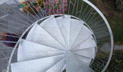 Escalier Métal acier