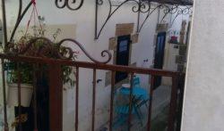 Auvent et portail fer forgé