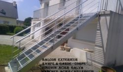 BALCON  ESCALIER & RAMPE
