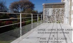 GARDE CORPS /  PARE VUE