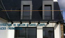 STRUCTURE  BALCON  ACIER  LAQUE  2