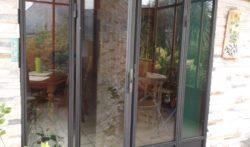 Porte Chassis Style atelier & Dalle de sol 2