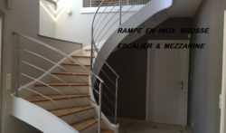 RAMPE   INOX  BROSSE  1